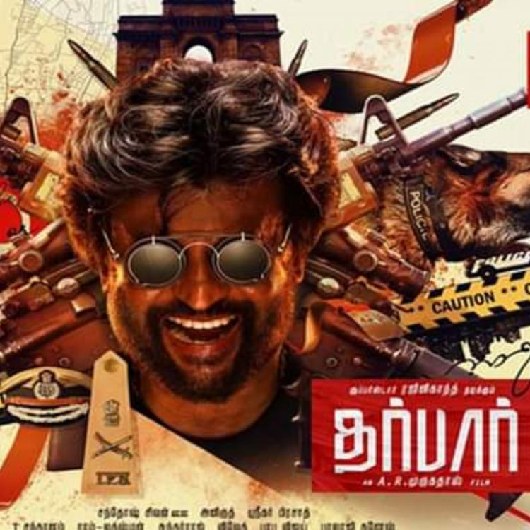 The first look of the Rajinikanth starrer Darbar will give you major Simmba vibes