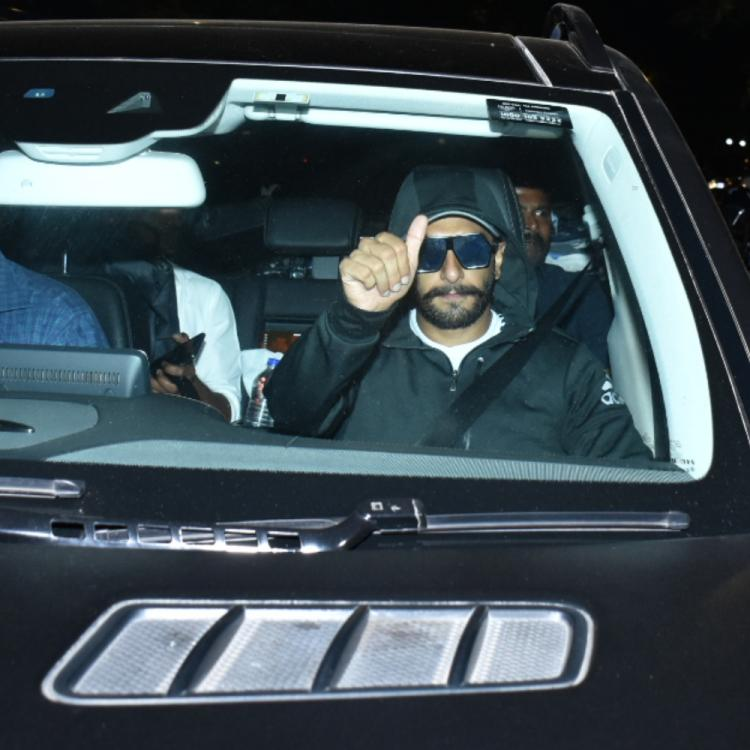 PHOTOS: Ranveer Singh seems to be in a full Swag mood as he arrives at a club in the city