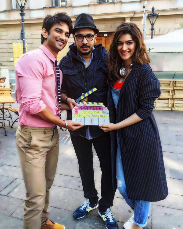 Sushant Singh Rajput S Latest Instagram Picture Is Going: Sushant-Kriti's Raabta Goes On Floors In Budapest