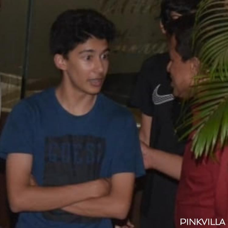 PICS: The handsome young men clicked here are Madhuri Dixit's sons Raayan and Arin | PINKVILLA