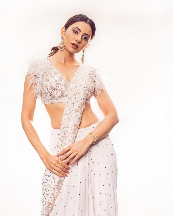 Style Check: NGK actress Rakul Preet is heating up summer in her six yards of elegance & its too hot to handle
