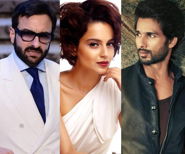See Picture: Shahid Kapoor shares the FIRST LOOK of 'Rangoon'