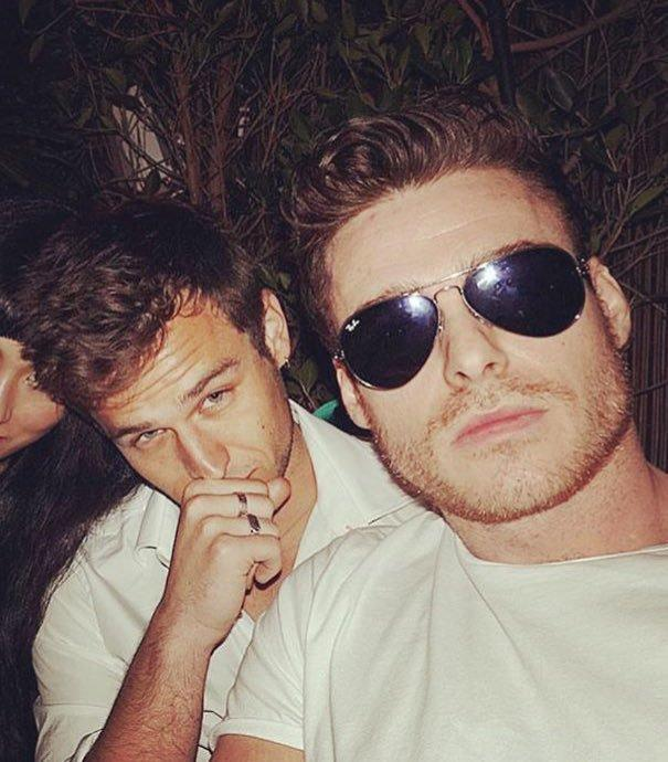 Richard Madden and Brandon Flynn are reportedly roommates in LA.
