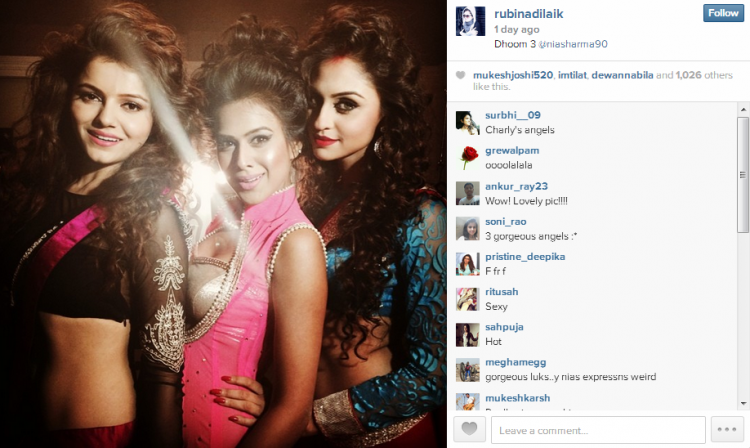 Nia Sharma And Krystle Dsouza Wallpapers