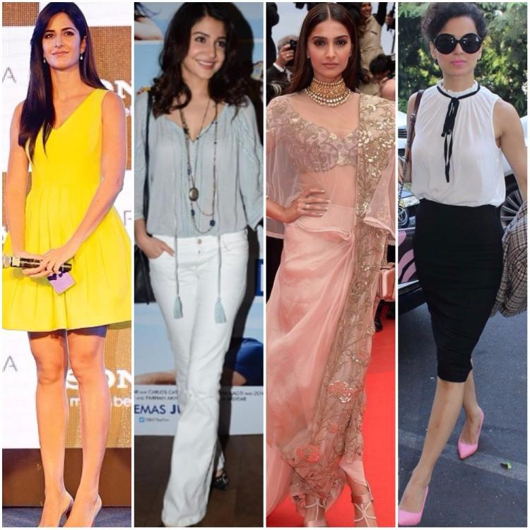 Katrina Anushka Sonam Or Kangana Take This Quiz To Find Out Who Is Your Style Sister Pinkvilla