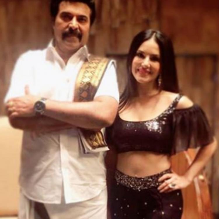Sunny Leone is full of gratitude to Mammootty and all her fans for praising her performance in Madhura Raja