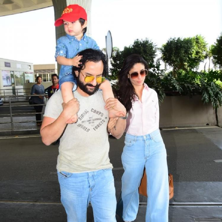 Here's why Taimur Ali Khan's paparazzi are MIFFED with Saif Ali Khan; Read Details
