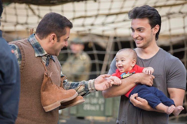 Salman Khan's Funny Stint For Nephew Ahil Is Too Adorable!