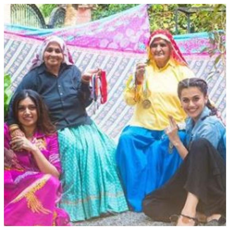 Saand Ki Aankh: Taapsee Pannu and Bhumi Pednekar share latest picture from the sets; Check it out