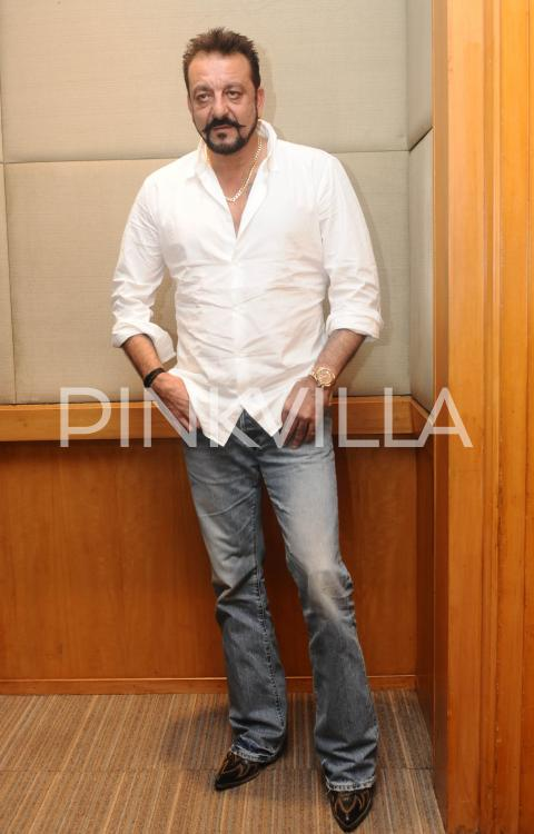 In Pics: Sanjay Dutt Spotted at an event in New Delhi ...