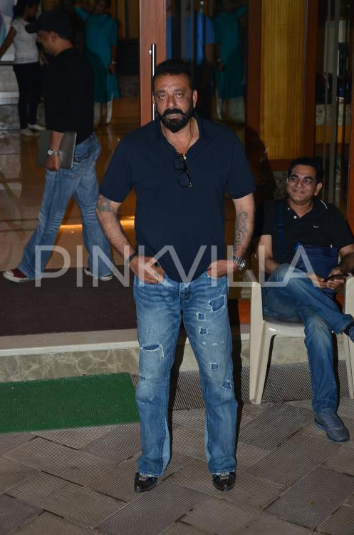 Sanjay Dutt is all smiles; spotted outside his house with ...