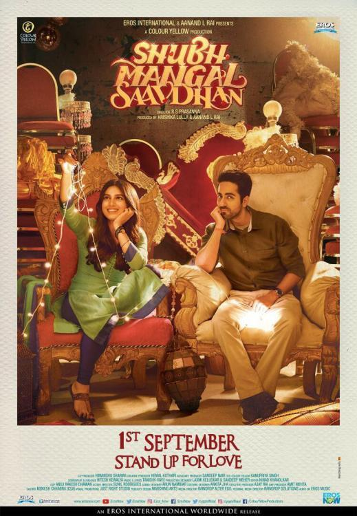 Shubh Mangal Saavdhan Review: Ayushmann in his reverse-Vicky Donor avatar is a show stealer in this rollicking comedy | PINKVILLA