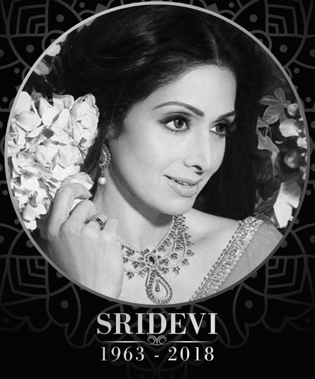 Image result for Celebrities Arrive at Celebration Sports Club to Pay Last Respects to Sridevi