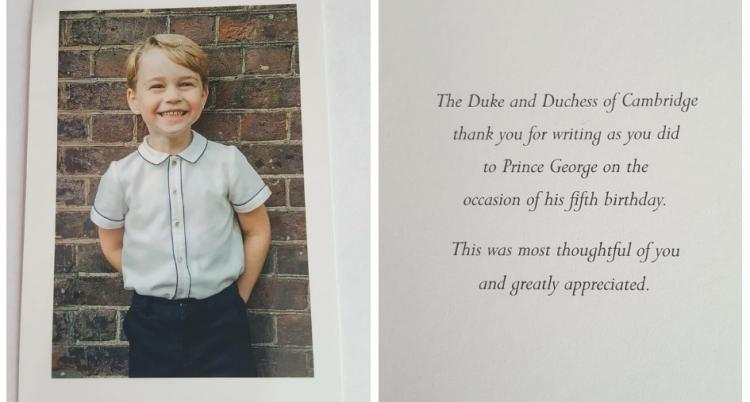 Event,Kate Middleton,Prince William,Prince George,The Royal Family,Royal Birthday