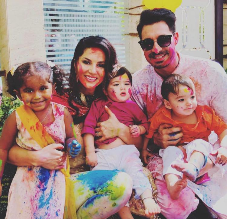 Sunny Leone's husband Daniel Weber has a special message for his wife on her 38th birthday
