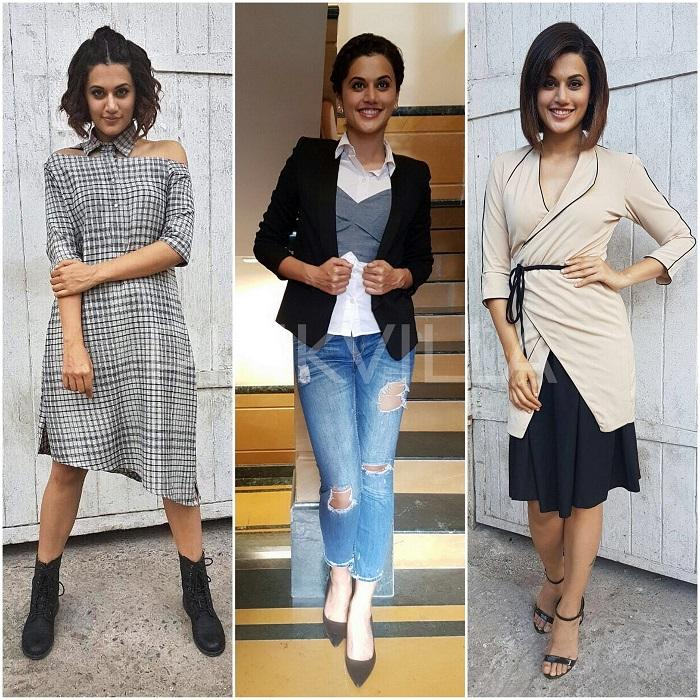 Style File Three Ways To Reinvent Your Style Like Taapsee Pannu Pinkvilla
