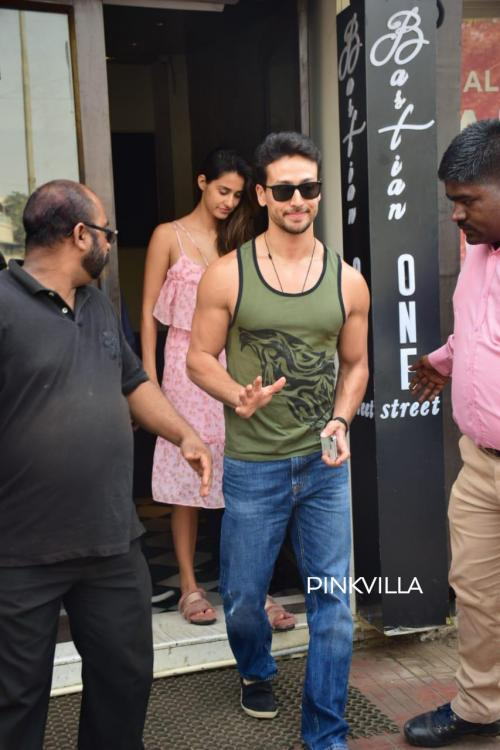 Photos: Tiger Shroff and Disha Patani look easy, breezy as they step out on a lunch date  | PINKVILLA