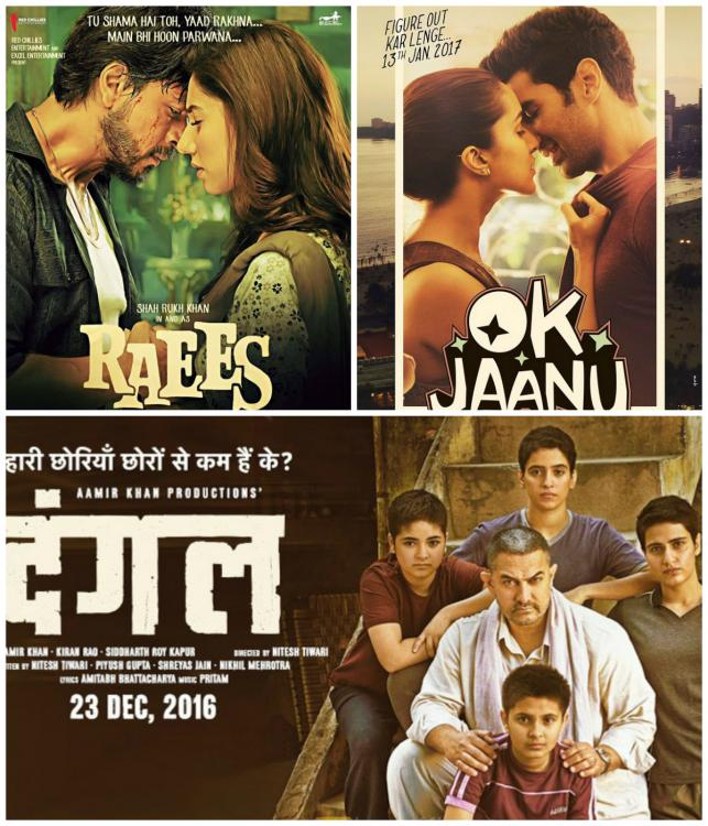 January Week 4 – Raees and Ok Jaanu's songs make it to the top 5 and Dangal continues to rule the charts | PINKVILLA