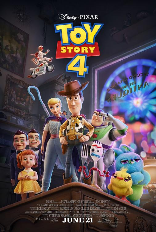 Toy Story 4 is slated to release on June 21, 2019.