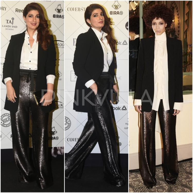 Yay or Nay : Twinkle Khanna in Cinq-a-Sept