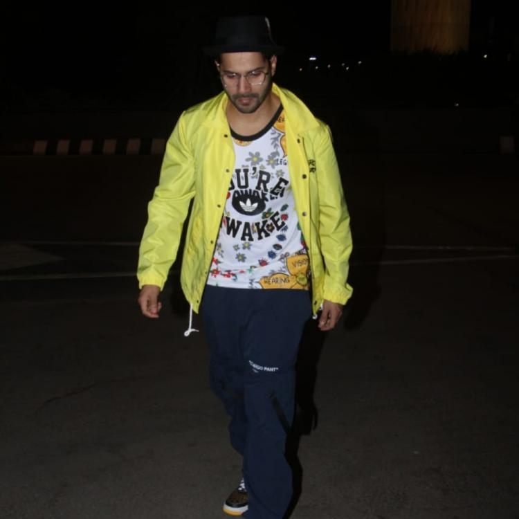 Photos: Varun Dhawan heads off to Thailand for his birthday celebrations