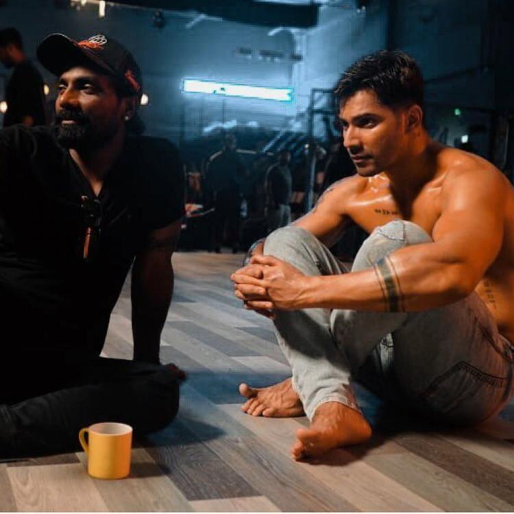 Varun Dhawan shares intense BTS photos with director Remo D'souza from the sets of Street Dancer 3D