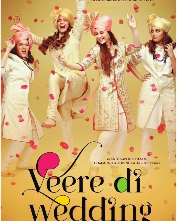 Veere Di Wedding Movie Review : It's a 'whatever', largely floozy and an unnecessary chick flick | PINKVILLA