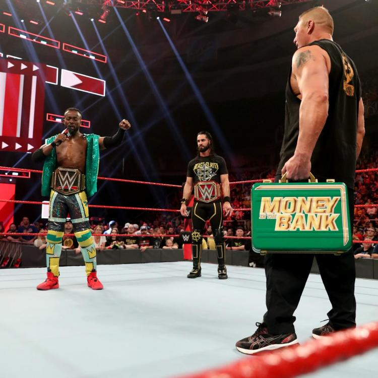 WWE RAW: Did Brock Lesnar cash in his MITB briefcase against Seth Rollins or Kofi Kingston? FIND OUT