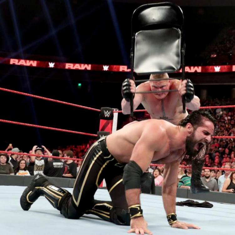 Brock Lensar was going to cash in his MITB briefcase on WWE RAW but had other plans for Seth Rollins, instead.