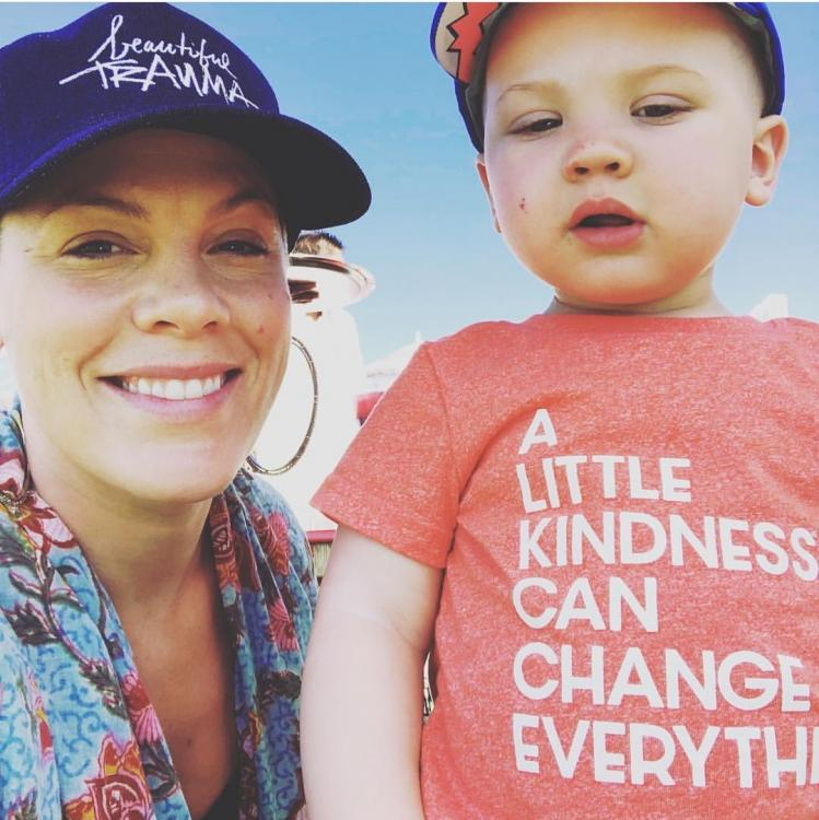 American singer Pink slams trolls for criticising son's photo