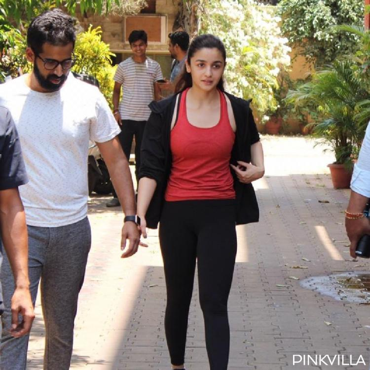 PHOTOS: Alia Bhatt looks bright as a rose as she was spotted post her yoga session
