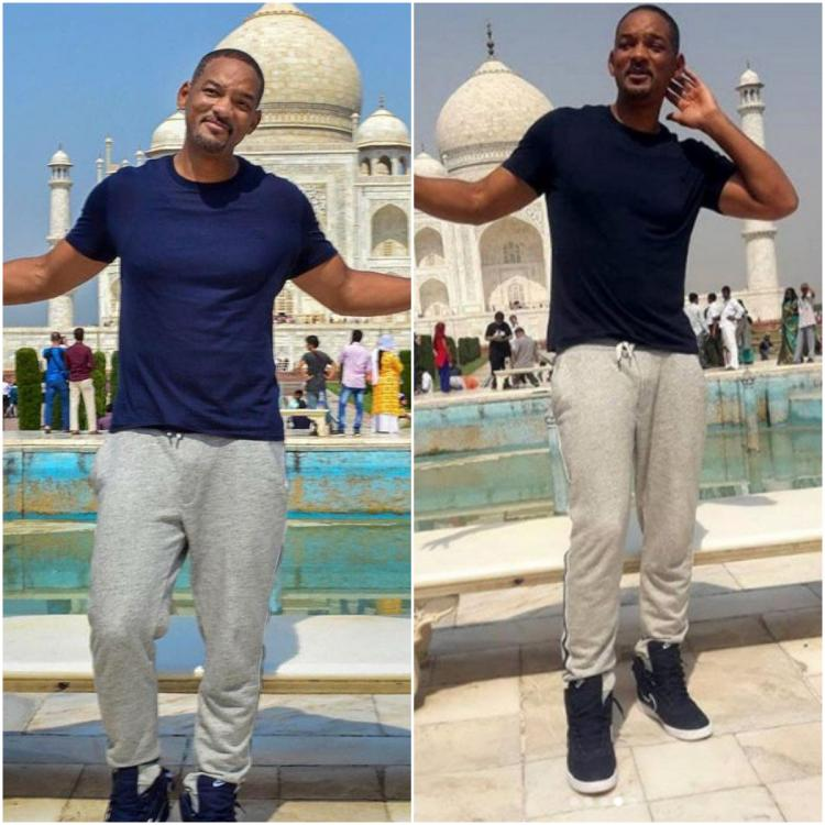 Photos: Will Smith posing in front of the iconic Taj Mahal is proof that he is desi at heart | PINKVILLA