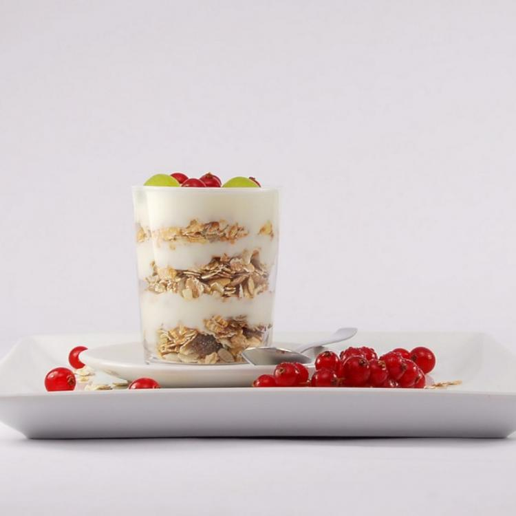 What's for breakfast? Relish this Yoghurt Fruit Jar in summers