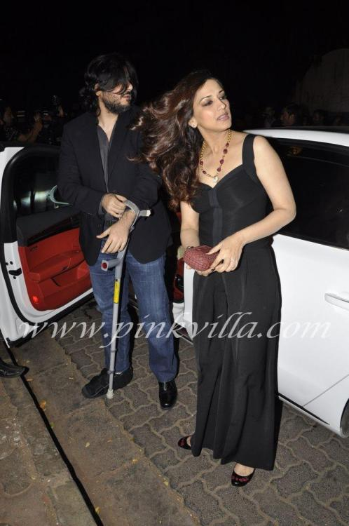 Photos,Sonali Bendre and Goldie Behl