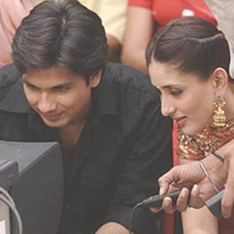 Kareena Kapoor's Jab We Met post with Shahid Kapoor and Imtiaz Ali.