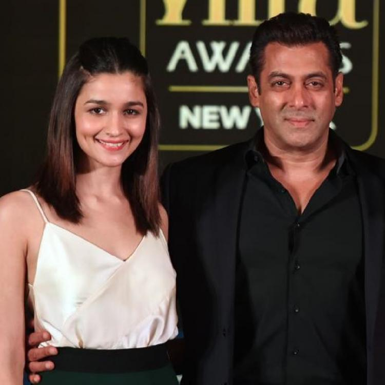 Salman Khan and Alia Bhatt.
