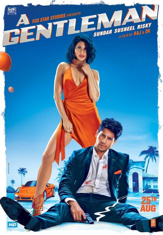 jacqueline fernandez,Sidharth Malhotra,Reviews,A Gentleman