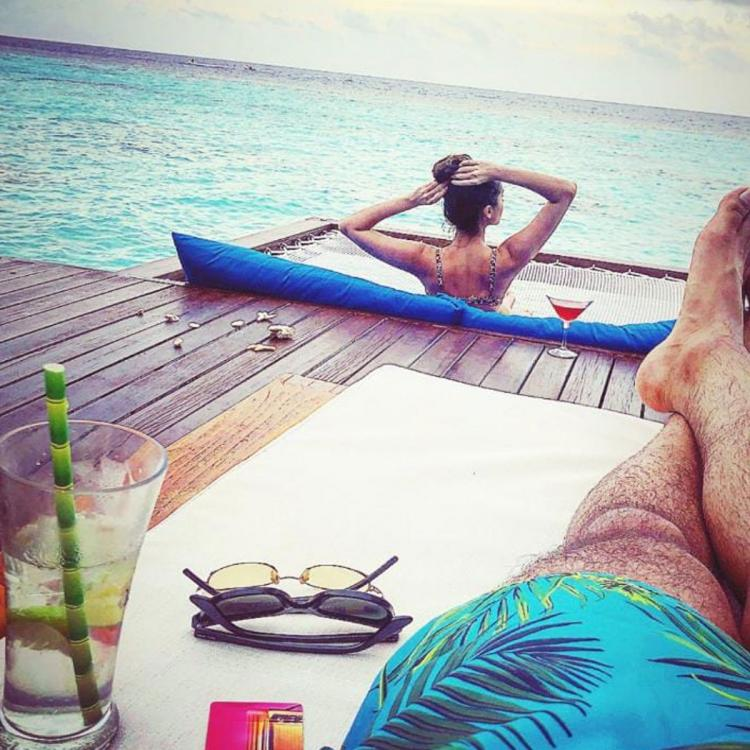 Aadar Jain shares a 'view to kill' from his Maldives vacation and it features his lady Tara Sutaria; See Pic