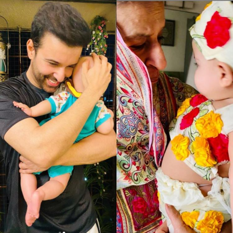 Aamir Ali captures his 'life in one frame' as she shares a cute PHOTO of his mother adoring his baby girl Arya