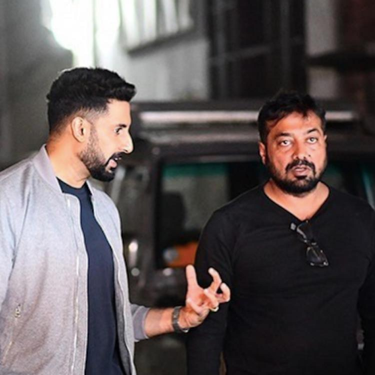 Abhishek Bachchan wishes Manmarziyaan director Anurag Kashyap on his birthday with a childhood picture