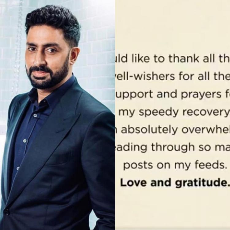 Abhishek Bachchan dedicates a VIDEO for those who wished him quick recovery during his COVID 19 treatment