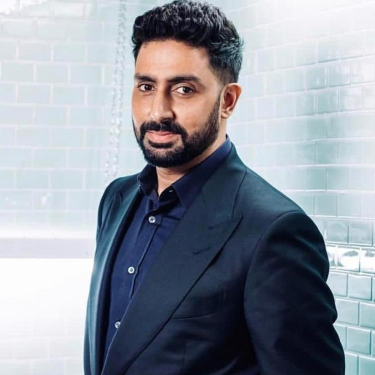Abhishek Bachchan talks about the 'light at the end of the tunnel'; Shweta Bachchan Nanda shows support