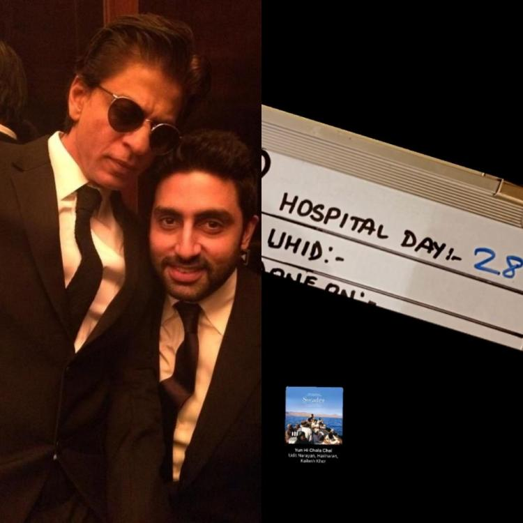 Abhishek Bachchan listens to Shah Rukh Khan's THIS song on Day 28 in hospital since COVID 19 diagnosis