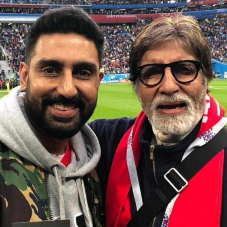 Abhishek Bachchan quashes reports of dad Amitabh Bachchan getting hospitalized; Says 'Must be his duplicate'