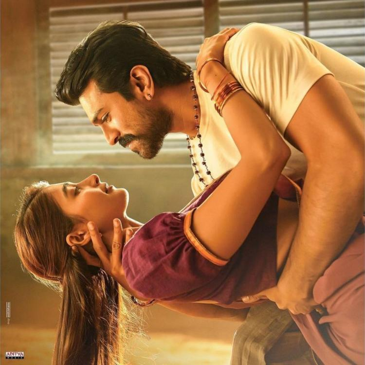 Pooja Hegde and Ram Charan's jaw dropping chemistry in the first look poster from Acharya steals the limelight