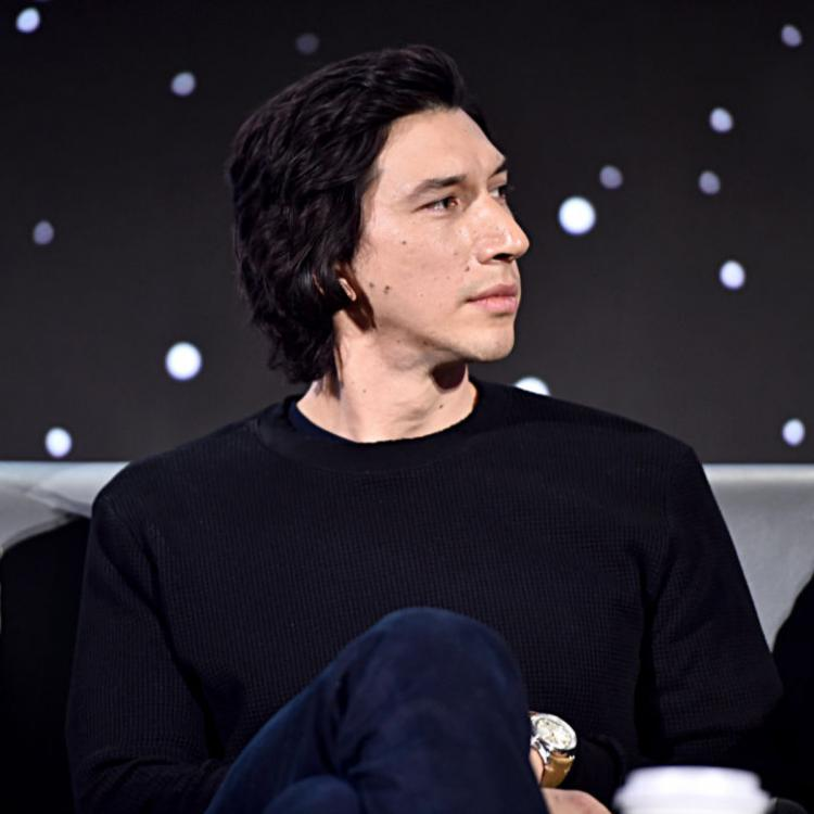 Adam Driver WALKS OUT of an interview after hearing himself sing in Marriage Story?
