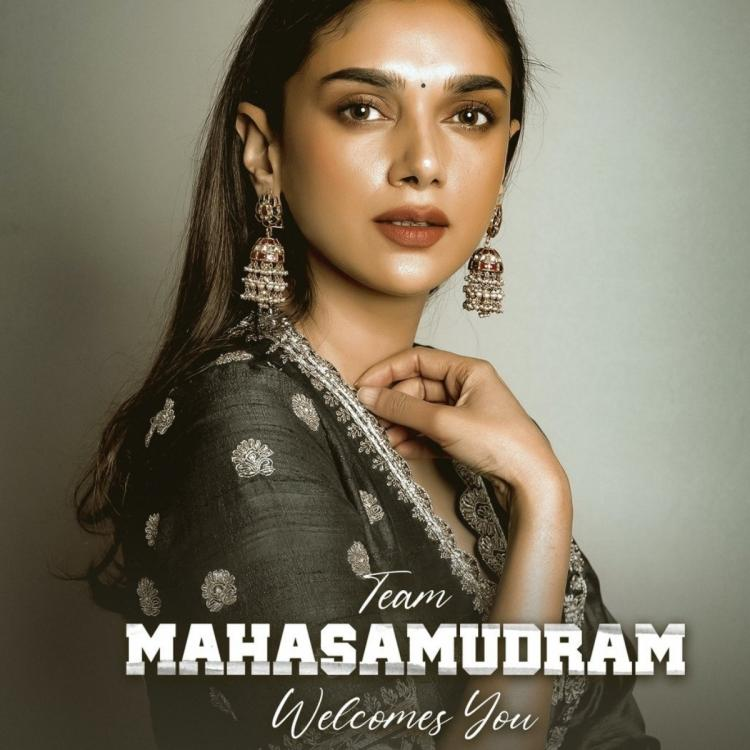 Aditi Rao Hydari to play the leading lady in Sharwanand and Siddharth's upcoming bilingual