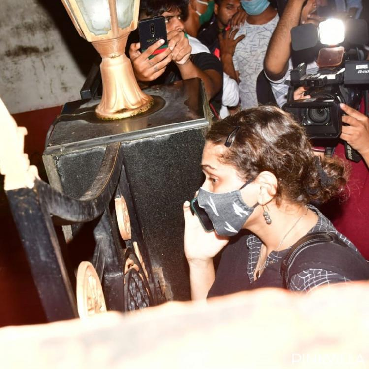After Sushant Singh Rajput's father files FIR against Rhea Chakraborty, Latter's lawyer arrives at her house