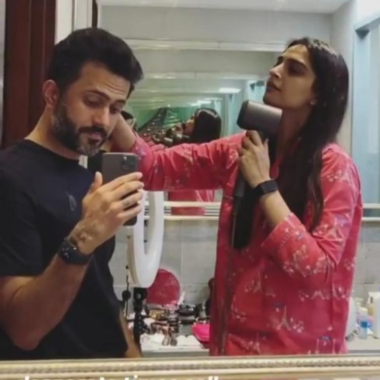 After Anushka Sharma, Sonam Kapoor turns into a hairstylist for hubby Anand Ahuja amid lockdown