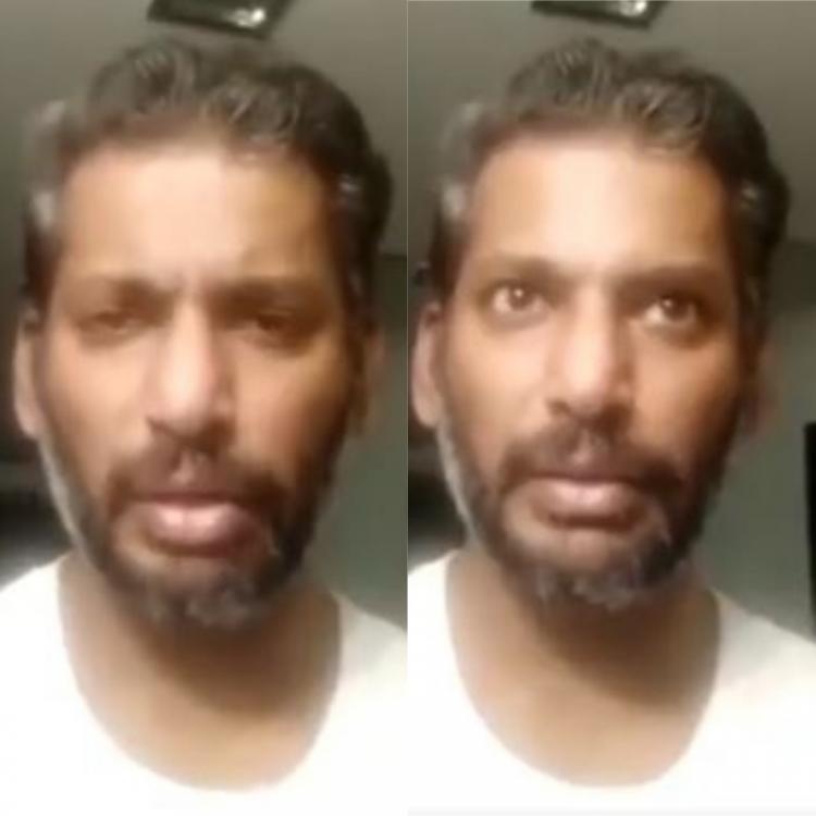 After recovering from COVID 19, Vishal encourages people to not fear if tested positive; Watch video